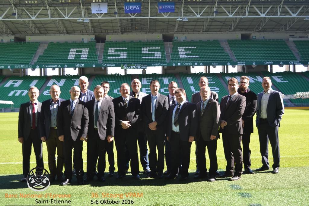 36. VPAM-Sitzung in Saint-Etienne 2016